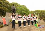 """团江西省委开展""""学党史、强信念、跟党走""""清明祭英烈活动"""